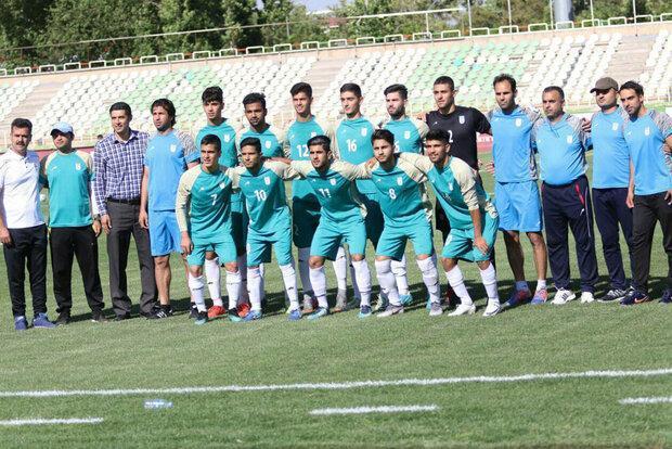 رویارویی تیم فوتبال جوانان ایران با آرژانتین در روسیه