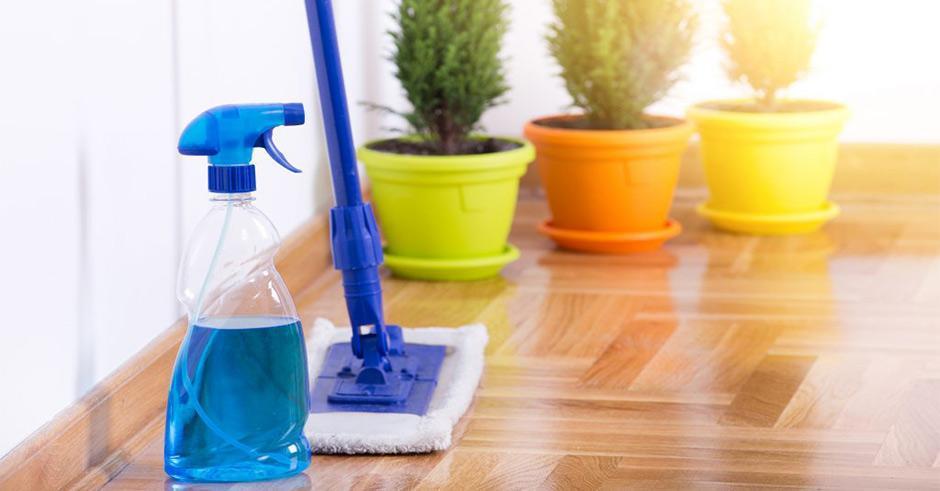برق انداختن انواع سطوح؛ تمیز کردن سرامیک و پارکت