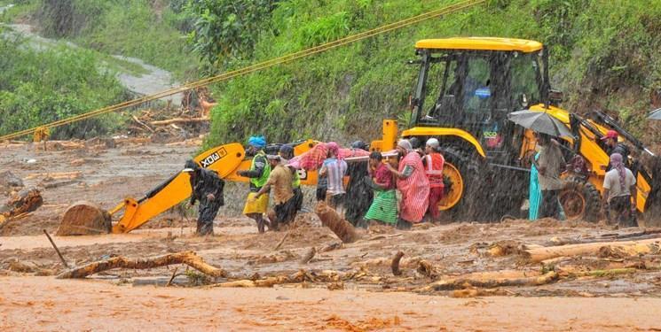 تعداد کشته شدگان سیل هند به 95 نفر رسید