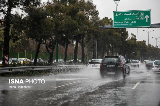 رگبار پراکنده و وزش باد شدید در برخی نقاط کشور