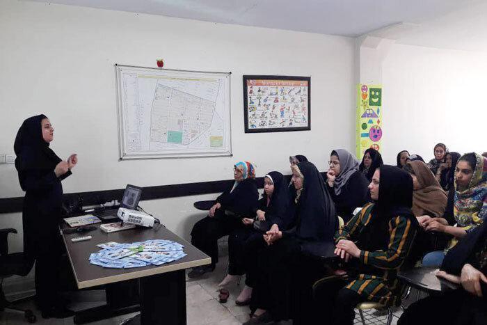 استقبال بانوان منطقه 15 از کارگاه آموزشیطرح امید