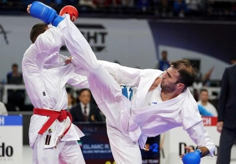 لیگ برتر کاراته وان ژاپن، کوشش عسگری برای نشان برنز، حذف خاکسار، آسیابری و کریمی