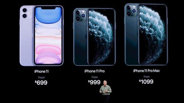 اپل از آیفون 11 رونمایی کرد