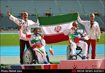 کاروان ایران به بیست و سومین طلا رسید، محمدیاری رکورد دنیا شکست