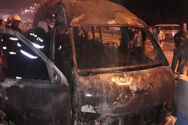 12 شهید و 5 زخمی براثر انفجار در جهت یک خودرو در کربلا