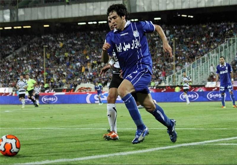 پیروزی استقلال برابر بوریرام در نیمه نخست، گلزنی شماره 2 در دقیقه 2