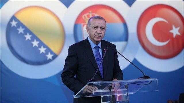 اردوغان: عملیات شمال سوریه متوقف نمی گردد