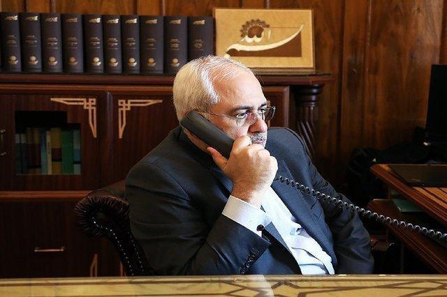 رایزنی تلفنی ظریف با وزیران خارجه روسیه، سوریه و عراق