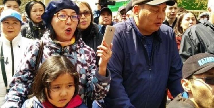 ممنوعیت حضور بچه ها در تجمعات غیر قانونی در قزاقستان