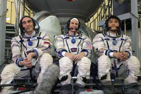 3 فضانورد در راه ایستگاه بین المللی فضایی