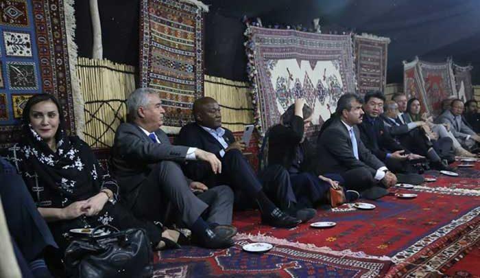 سفرا و رایزنان اقتصادی 15 کشور به کرمان سفر کردند