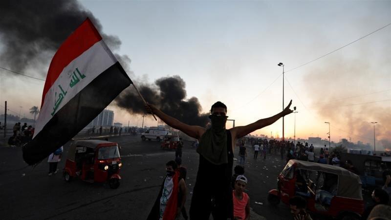 بیانیه حشد الشعبی درباره اعتراضات عراق