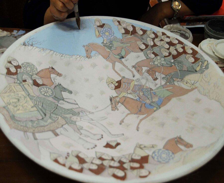 راه اندازی بانک اطلاعات هنرمندان هنرهای سنتی ، ثبت اطلاعات 270 هنرمند