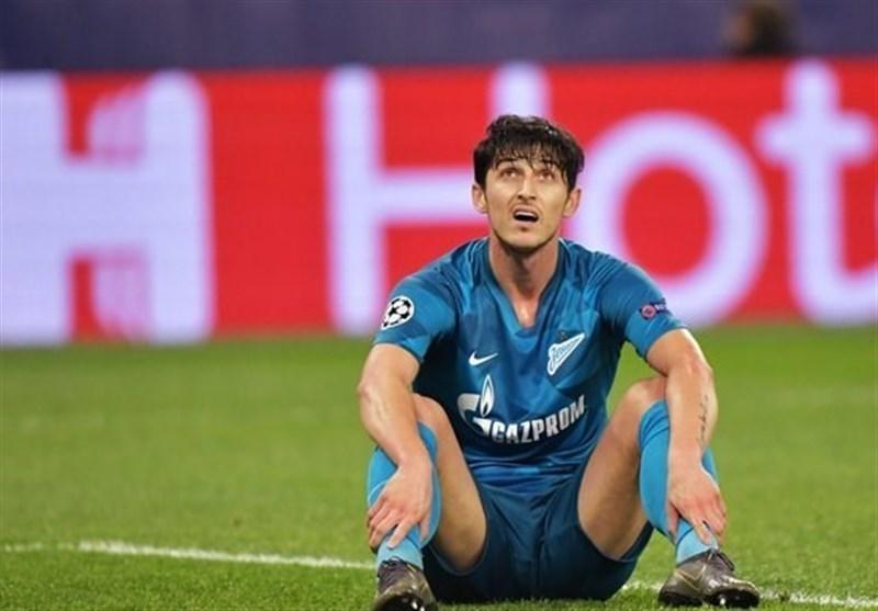 ثبت رکورد عجیب آزمون برای فوتبال روسیه در لیگ قهرمانان اروپا