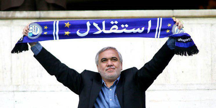 فوری، فتح الله زاده مدیرعاملی استقلال را پذیرفت