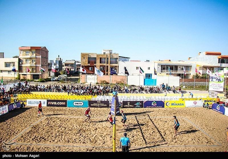 تور والیبال ساحلی تک ستاره در بندرترکمن، ایران و تایلند به ملاقات پایانی راه یافتند