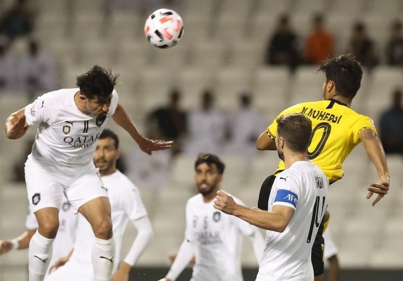 لیگ قهرمانان آسیا، جدال السد و سپاهان در نیمه اول برنده نداشت