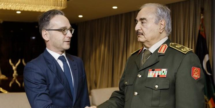 وزیر خارجه آلمان در بنغازی: حفتر به آتش بس متعهد است