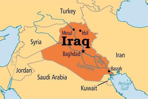 حمله موشکی به پایگاه نظامی در صلاح الدین عراق