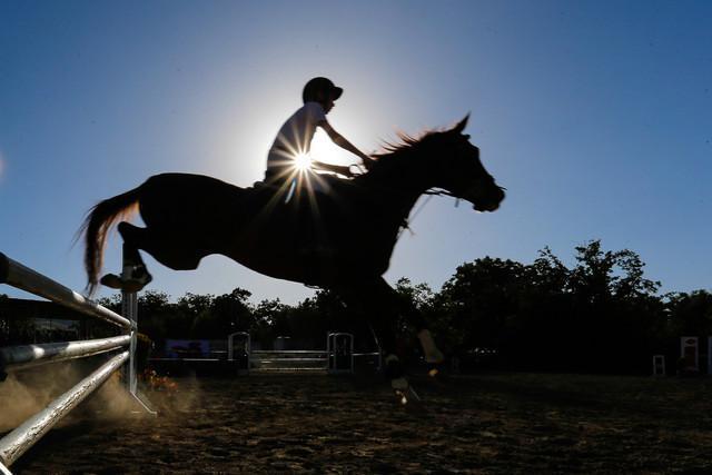 پنجمی سوارکار ایران در مسابقات بین المللی پرش با اسب اسپانیا