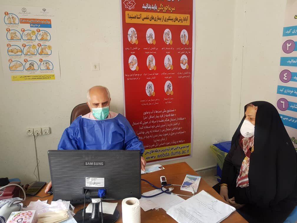 خبرنگاران مرکز مراقبت بیماری های حاد تنفسی در دزفول راه اندازی شد