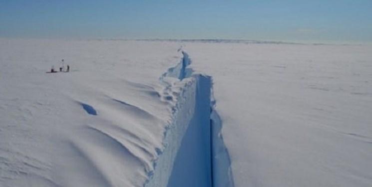 تصویر ناسا از ذوب یخچال های قطب جنوب