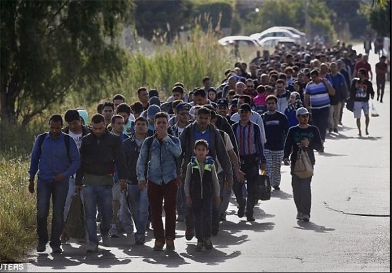 هجوم مهاجران به سواحل توریستی یونان