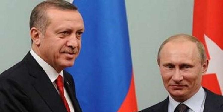 اردوغان و پوتین تلفنی گفت و گو کردند