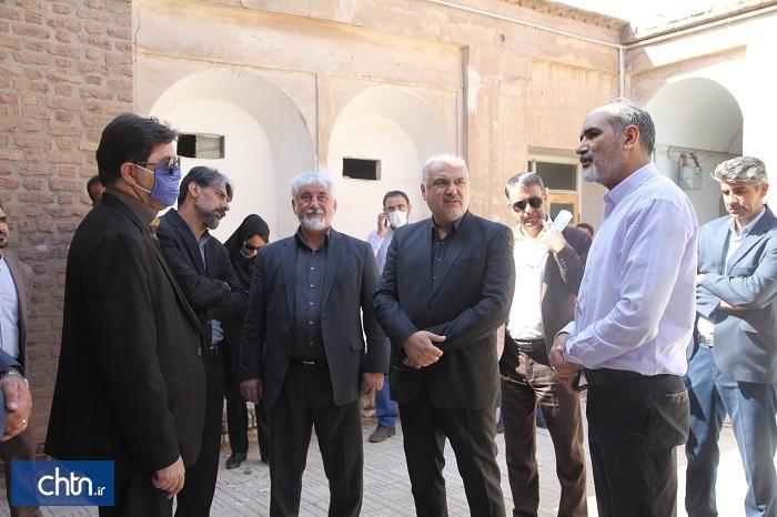 ایجاد سایت موزه در قلب کرمان با کشف بقایای معماری قبه سبز