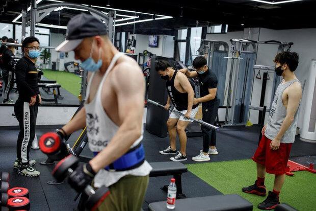 باشگاه های ورزشی پکن بازگشایی شد
