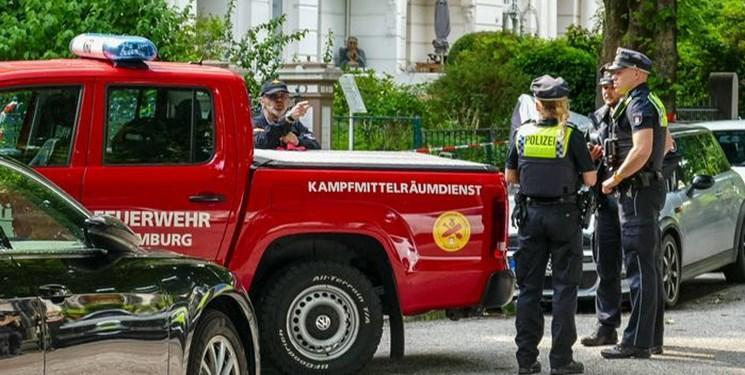 چاشنی انفجاری برجای مانده از جنگ جهانی دوم در هامبورگ خنثی شد