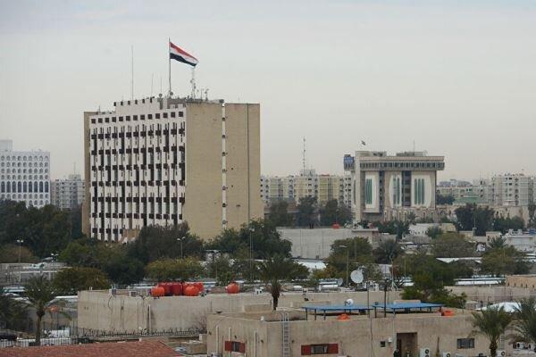 اصابت راکت به منطقه سبز بغداد، پرواز بالگرد های آمریکا برفراز منطقه