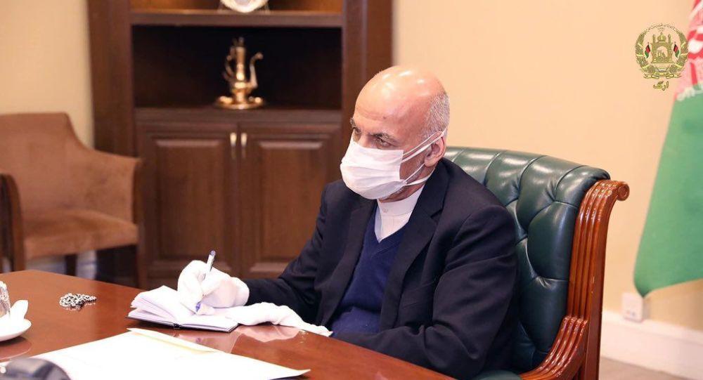 قدردانی اشرف غنی از قهرمانان مبارزه با ویروس کرونا