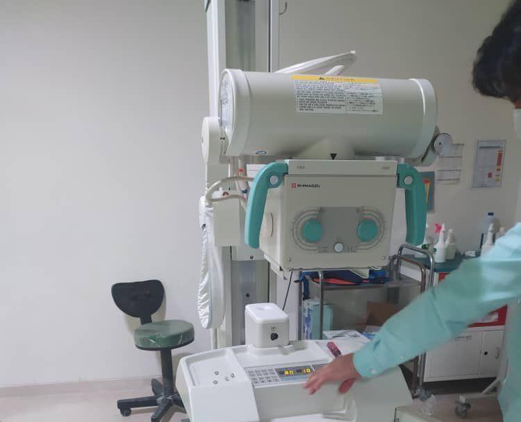 بیمارستان ولایت راسک به دستگاه رادیولوژی پرتابل مجهز شد