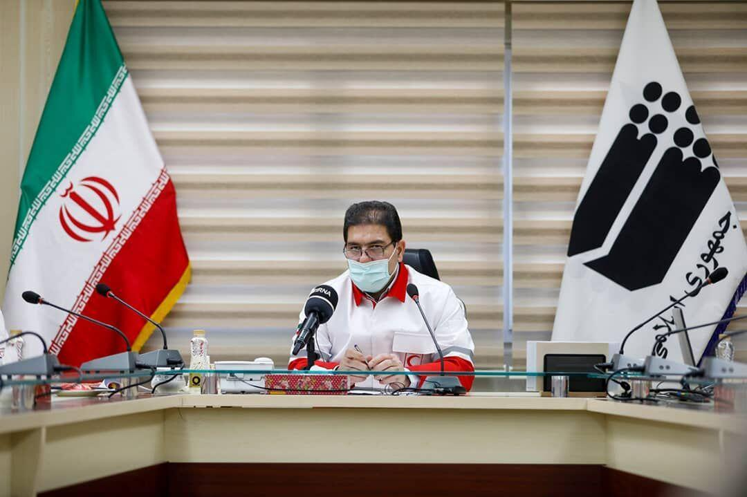 خبرنگاران گزارش رییس جمعیت هلال احمر به کمیسیون بهداشت و درمان مجلس