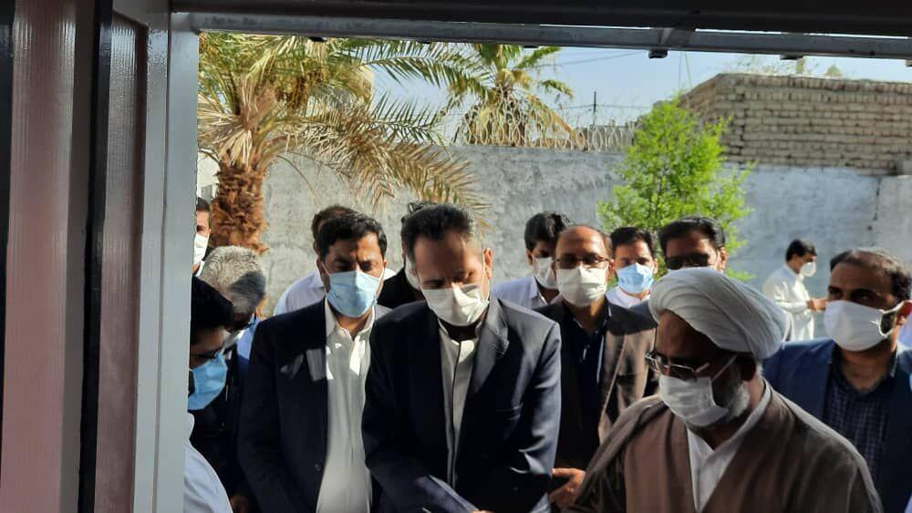 خبرنگاران سه طرح خدماتی در ایرانشهر افتتاح شد