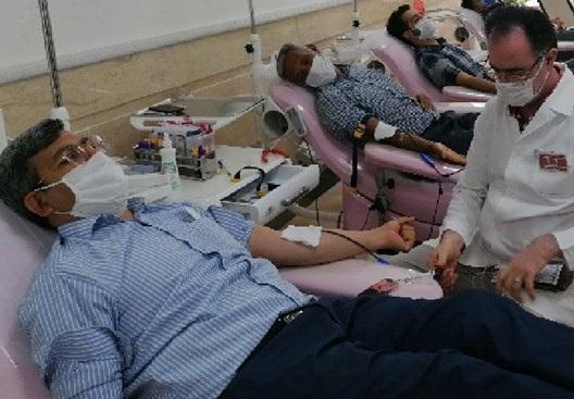 نذر خون تا اربعین حسینی، مراکز اهدای خون در تاسوعا و عاشورا در تهران