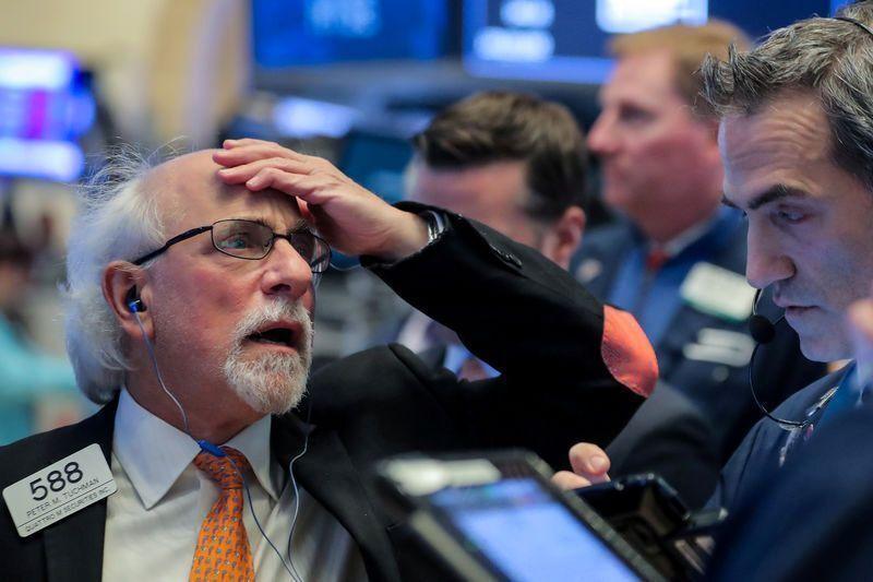 سقوط سنگین وال استریت