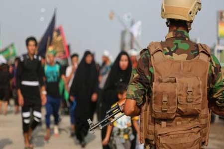 تامین امنیت کربلا در روز عاشورا با 30 هزار نیروی امنیتی ، کشف موشک در سامرا