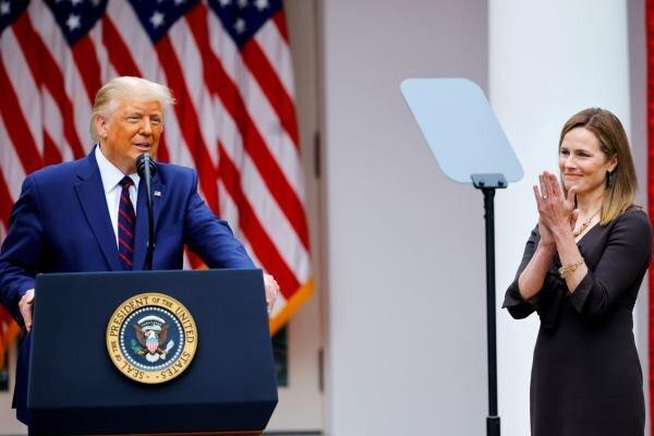 سنای آمریکا زمان برگزاری مراسم تنفیذ قاضی اِمی بارترا خاطرنشان کرد