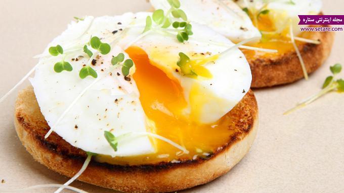 صبحانه مقوی برای بچه ها با تخم مرغ عسلی (ویدئو)