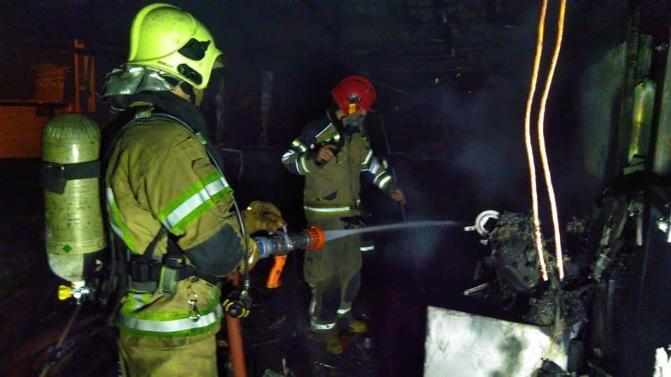 خبرنگاران انفجار گاز در کرج سبب مصدومیت یک نفر و آتش سوزی شد