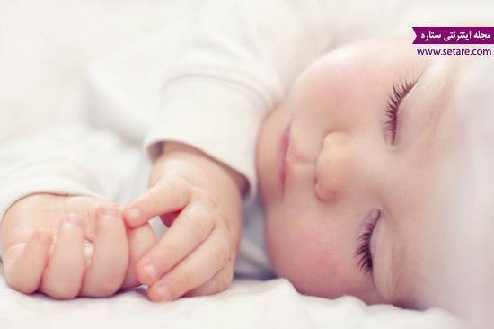 میزان خواب کودک در سنین مختلف