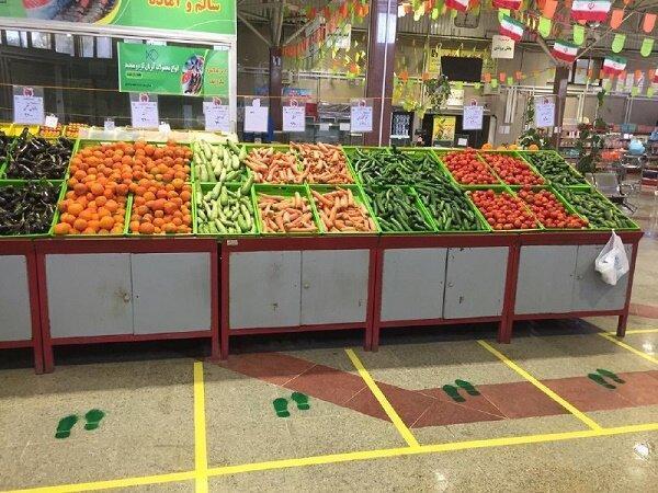 کاهش قیمت سبزیجات و صیفی جات پرمصرف در میادین میوه و تره بار