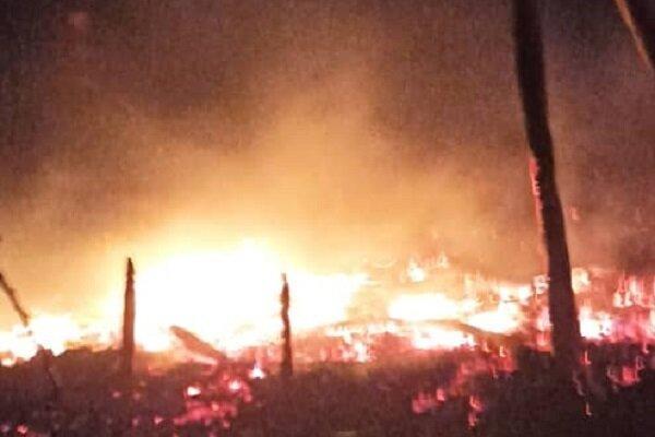 آتش سوزی در اردوگاه تروریستهای داعش در سوریه، دستکم 7 تن کشته شدند