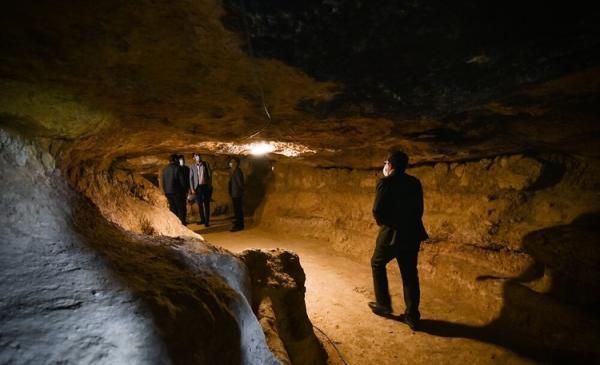 (تصاویر) شهر زیرزمینی تهیق