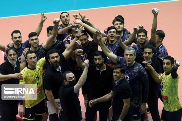 خبرنگاران بلاتکلیفی نماینده والیبال ایران در باشگاه های آسیا