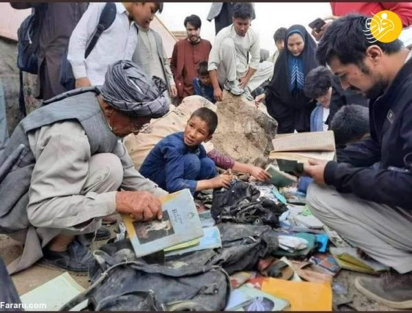 تصاویر دلخراش از انفجار مقابل مدرسه دخترانه در کابل