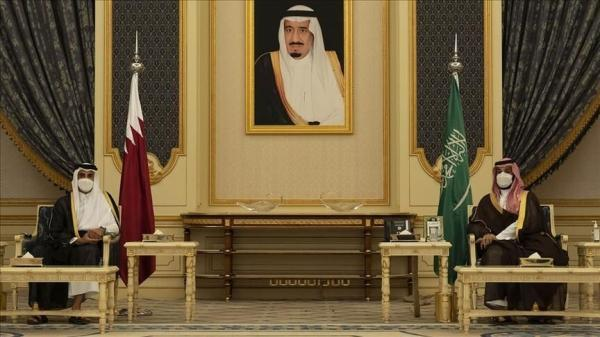 ملاقات و گفت وگوی امیر قطر و ولیعهد عربستان