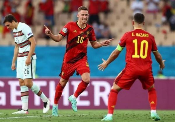 یورو 2020، بلژیک با حذف پرتغال حریف ایتالیا شد، سرانجام کار مدافع اسم قهرمانی
